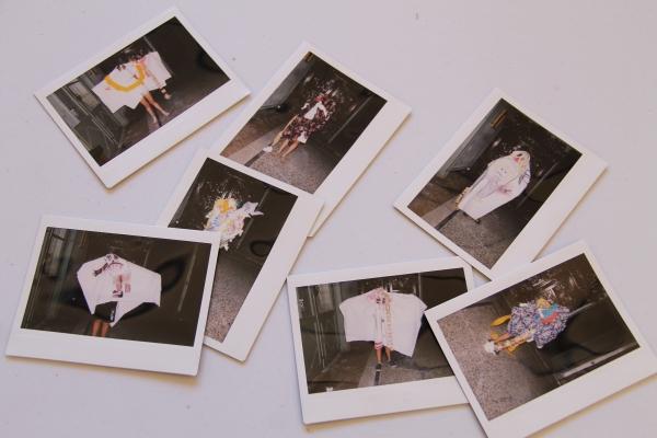 Galerie de l'invisible - enfants : les polaroïds ! Acte I